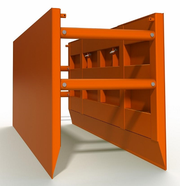 Steel Trench Box : Basic steel trench box