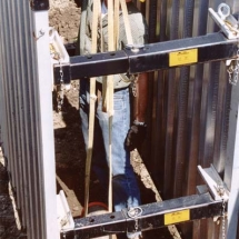 Corru Lite Aluminum Trench Shielding