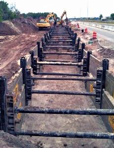 Linear Multi Bay Slide Rail