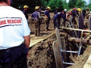 Hydraulic Rescue Shores