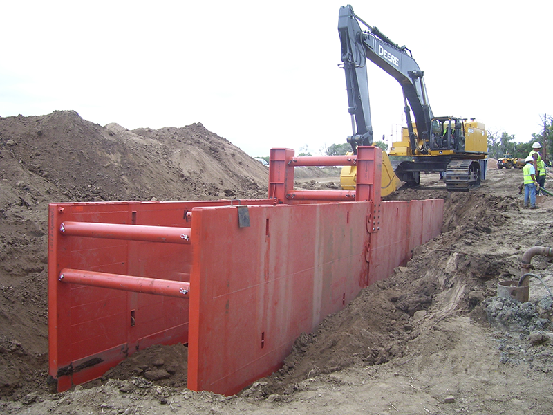 Heavy Duty Trench Shoring